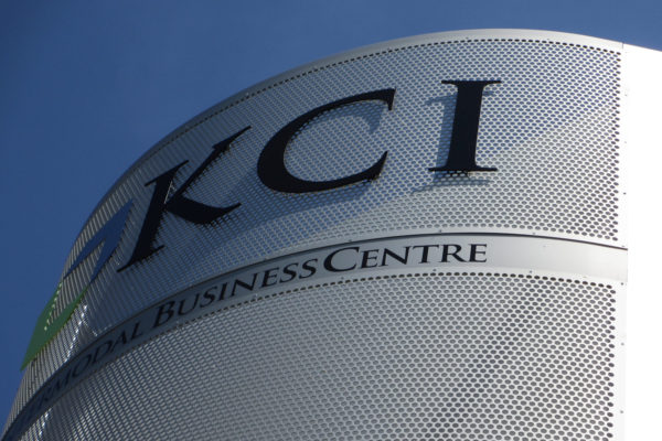 KCI Intermodal Business Centre Signage