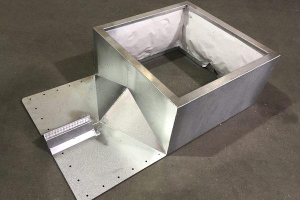 Hybrid roof curb