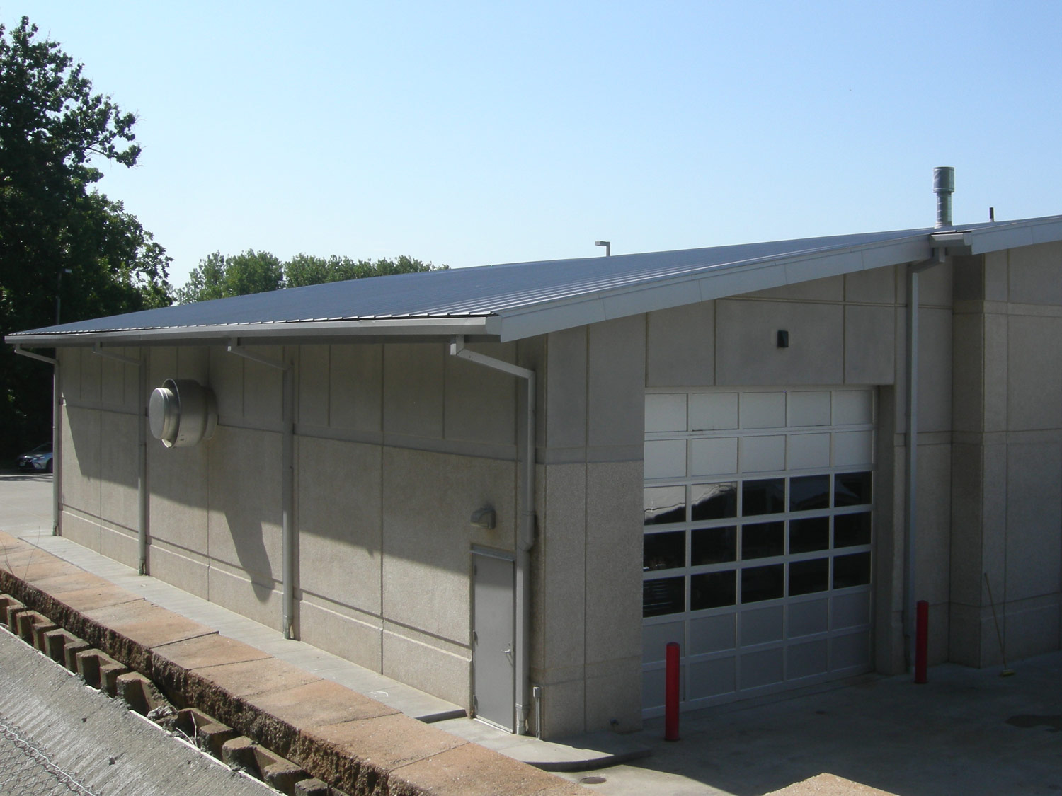 Window Rain Guards >> Fire Station No. 35 | Standard Sheet Metal
