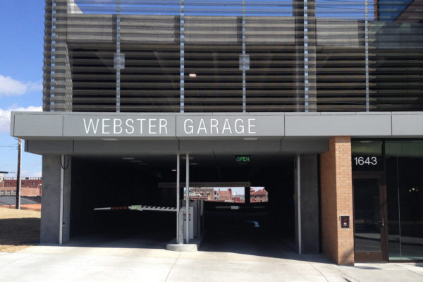 Webster House Parking Garage