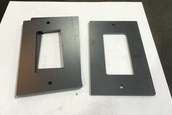 steel plate switch covers