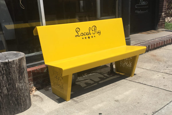 Local Pig Bench