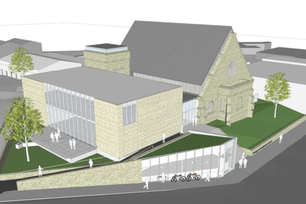 SSM begins work on the reconstruction of Westport Presbyterian Church
