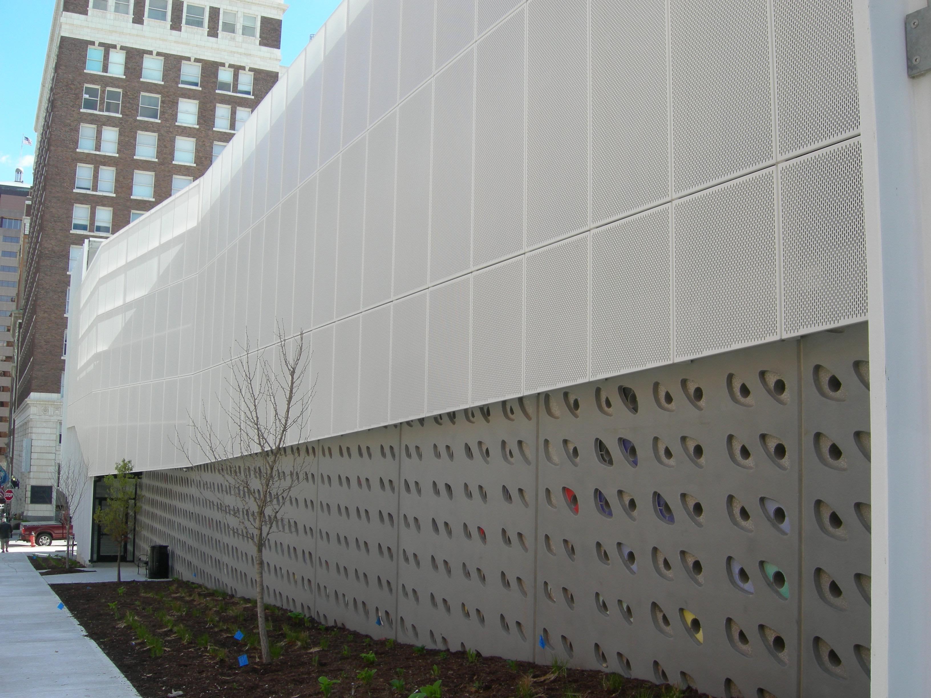 10th Amp Wyandotte Parking Garage Standard Sheet Metal